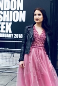 Olivia Drost na London Fashion Week